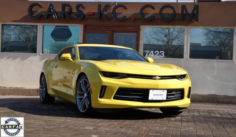 2017 Chevrolet Camaro for sale at Cars-KC LLC in Overland Park KS