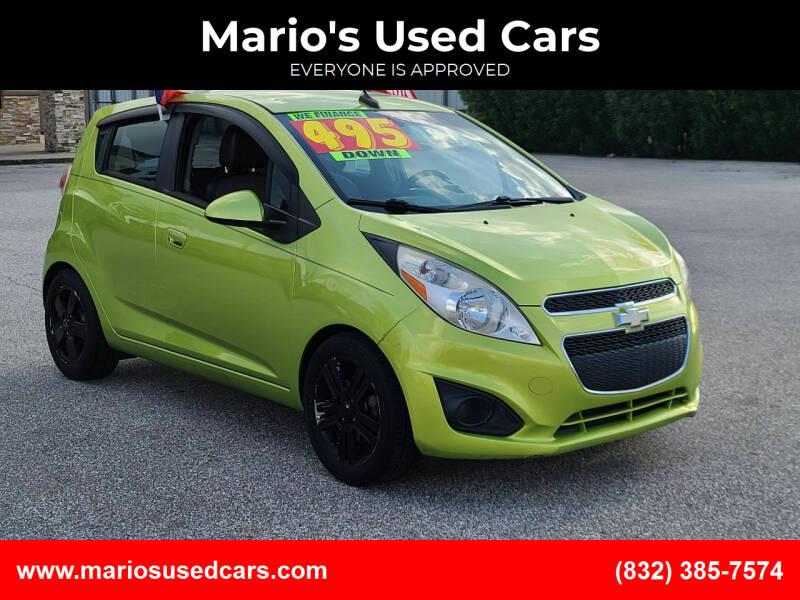 2013 Chevrolet Spark for sale at Mario's Used Cars - Pasadena Location in Pasadena TX