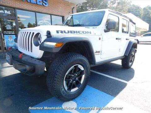 2018 Jeep Wrangler Unlimited for sale at Michael D Stout in Cumming GA