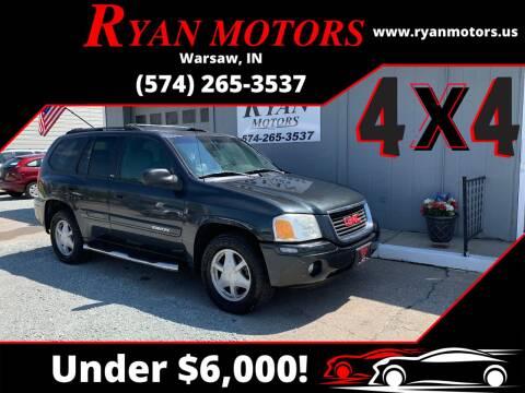 2003 GMC Envoy for sale at Ryan Motors LLC in Warsaw IN
