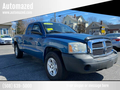 2005 Dodge Dakota for sale at Automazed in Attleboro MA