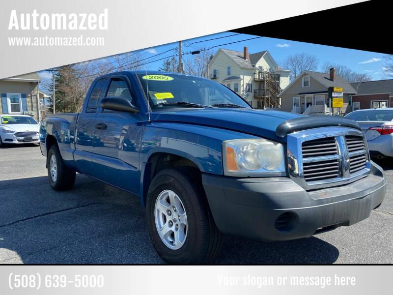 2005 Dodge Dakota for sale at Automazed in Attleboro MA