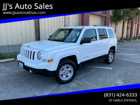 2015 Jeep Patriot for sale at JJ's Auto Sales in Salinas CA