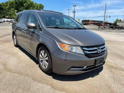 2014 Honda Odyssey for sale at CHAD AUTO SALES in Bridgeton MO
