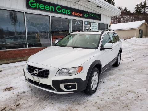 2010 Volvo XC70 for sale at Green Cars Vermont in Montpelier VT