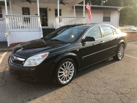 2007 Saturn Aura for sale at CVC AUTO SALES in Durham NC