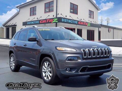 2018 Jeep Cherokee for sale at Distinctive Car Toyz in Egg Harbor Township NJ