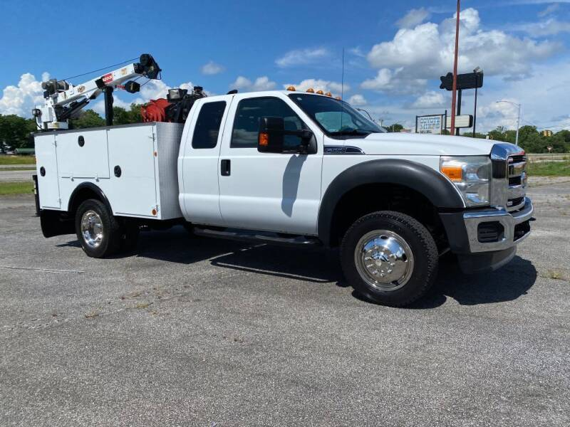 2011 Ford F-550 Super Duty for sale at Heavy Metal Automotive LLC in Anniston AL