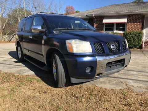 2007 Nissan Armada for sale at L & M Auto Broker in Stone Mountain GA
