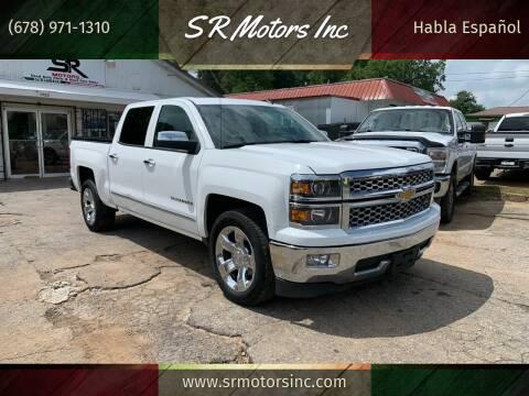 2014 Chevrolet Silverado 1500 for sale at SR Motors Inc in Gainesville GA