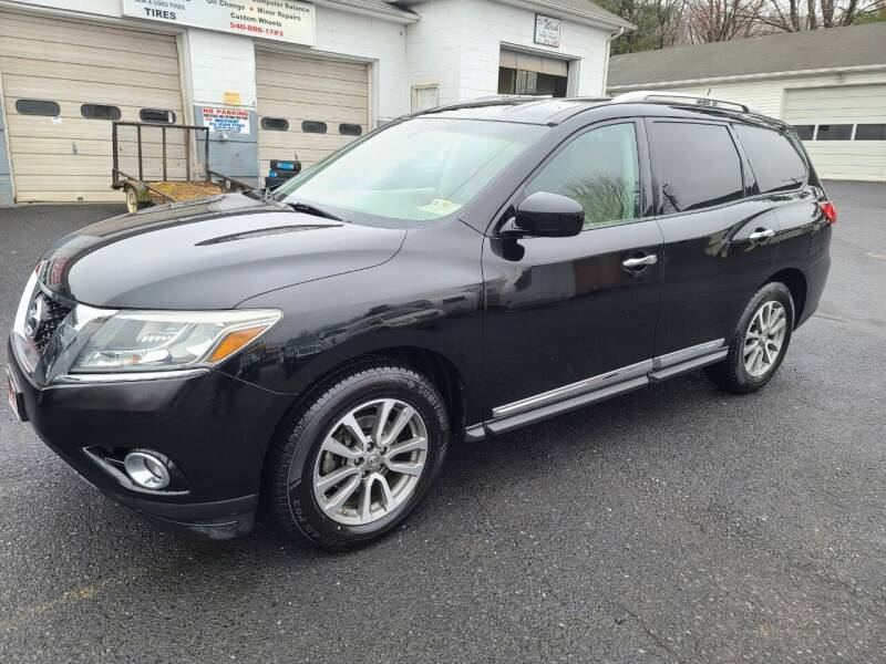 2013 Nissan Pathfinder for sale at Driven Motors in Staunton VA