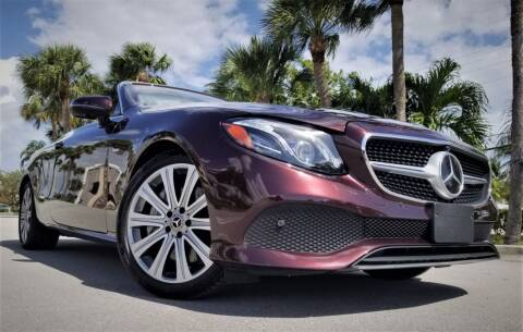 2018 Mercedes-Benz E-Class for sale at Progressive Motors in Pompano Beach FL