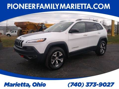 2016 Jeep Cherokee for sale at Pioneer Family auto in Marietta OH