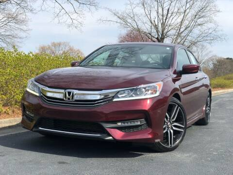 2017 Honda Accord for sale at William D Auto Sales in Norcross GA