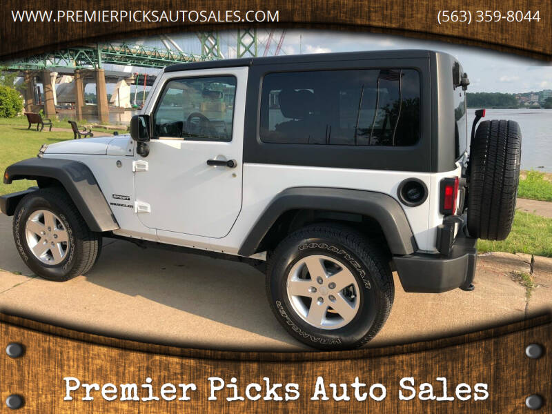 2011 Jeep Wrangler for sale at Premier Picks Auto Sales in Bettendorf IA