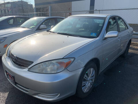 2002 Toyota Camry for sale at JerseyMotorsInc.com in Teterboro NJ