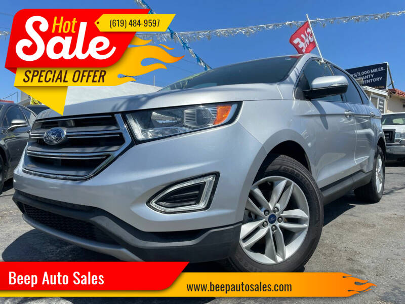 2016 Ford Edge for sale at Beep Auto Sales in National City CA