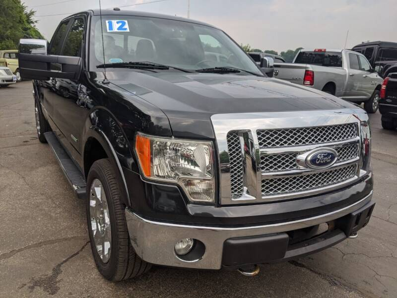 2012 Ford F-150 for sale at GREAT DEALS ON WHEELS in Michigan City IN