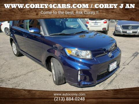 2013 Scion xB for sale at WWW.COREY4CARS.COM / COREY J AN in Los Angeles CA