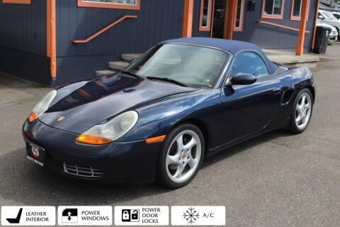 2000 Porsche Boxster for sale at Sabeti Motors in Tacoma WA