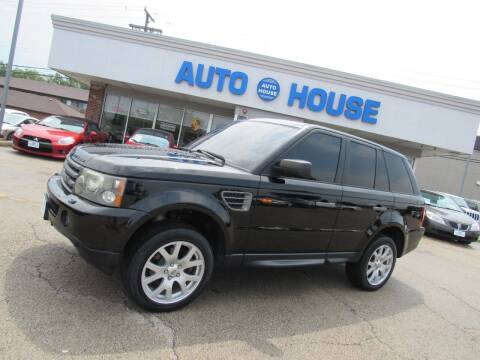 2008 Land Rover Range Rover Sport for sale at Auto House Motors in Downers Grove IL