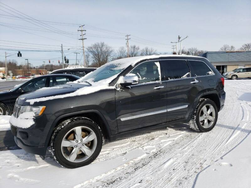 2011 Jeep Grand Cherokee for sale at COLONIAL AUTO SALES in North Lima OH