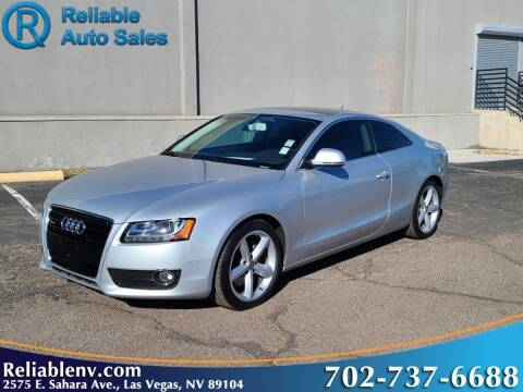 2009 Audi A5 for sale at Reliable Auto Sales in Las Vegas NV