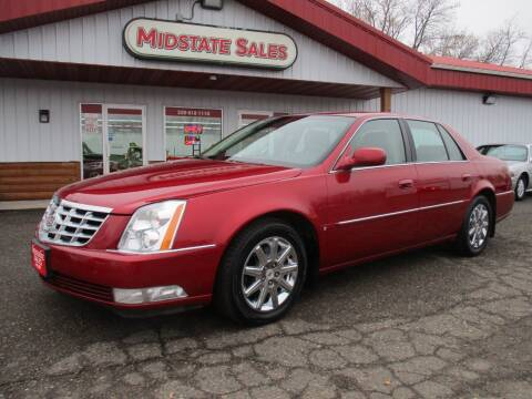 2009 Cadillac DTS for sale at Midstate Sales in Foley MN