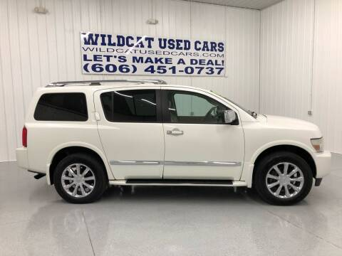 2008 Infiniti QX56 for sale at Wildcat Used Cars in Somerset KY