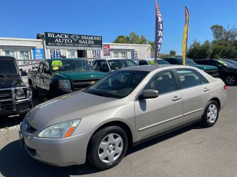 2005 Honda Accord for sale at Black Diamond Auto Sales Inc. in Rancho Cordova CA