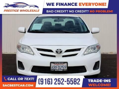 2011 Toyota Corolla for sale at Prestige Wholesale in Sacramento CA