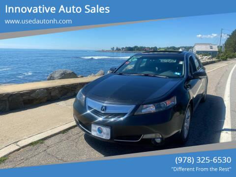 2012 Acura TL for sale at Innovative Auto Sales in North Hampton NH