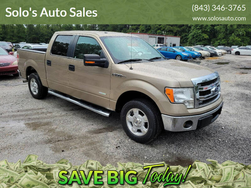 2013 Ford F-150 for sale at Solo's Auto Sales in Timmonsville SC