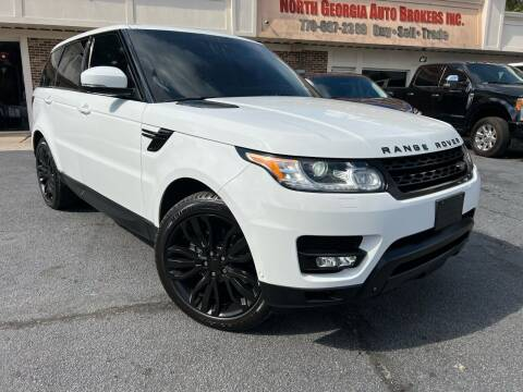 2014 Land Rover Range Rover Sport for sale at North Georgia Auto Brokers in Snellville GA