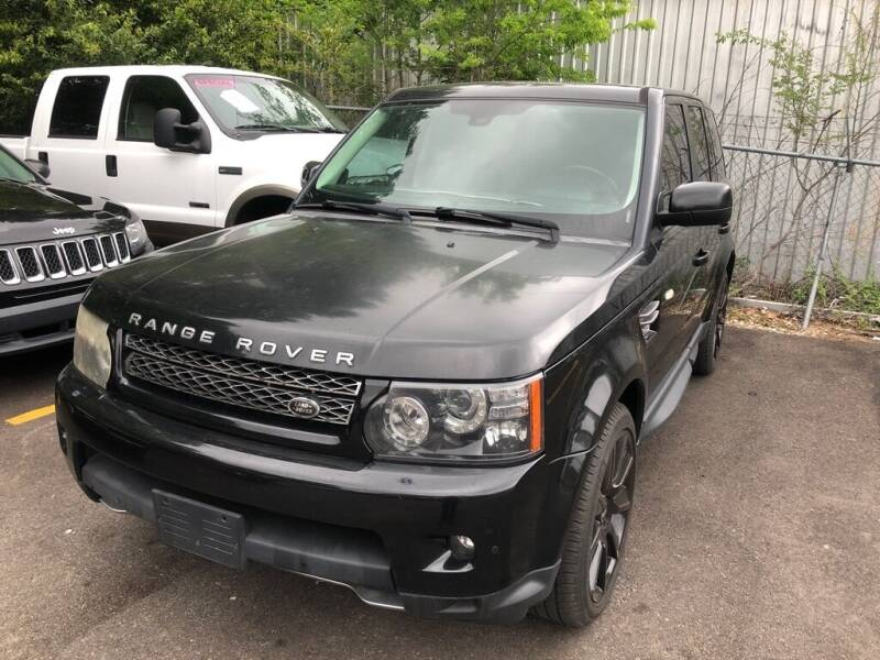 2013 Land Rover Range Rover Sport for sale at 4 Girls Auto Sales in Houston TX