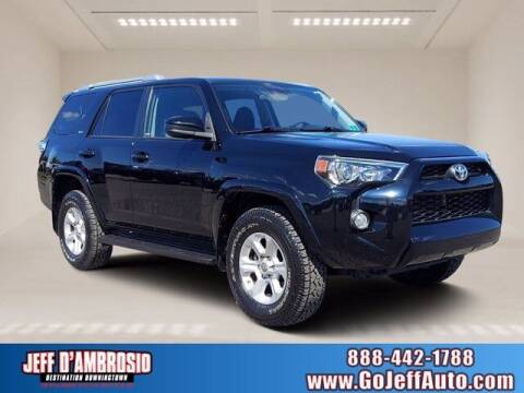 2016 Toyota 4Runner for sale at Jeff D'Ambrosio Auto Group in Downingtown PA