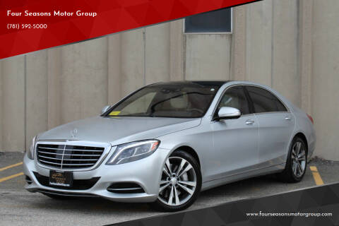 2014 Mercedes-Benz S-Class for sale at Four Seasons Motor Group in Swampscott MA