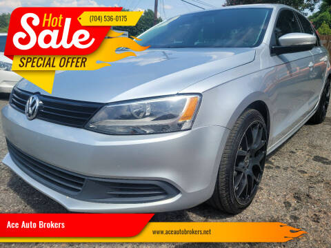 2012 Volkswagen Jetta for sale at Ace Auto Brokers in Charlotte NC