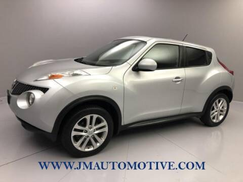 2014 Nissan JUKE for sale at J & M Automotive in Naugatuck CT