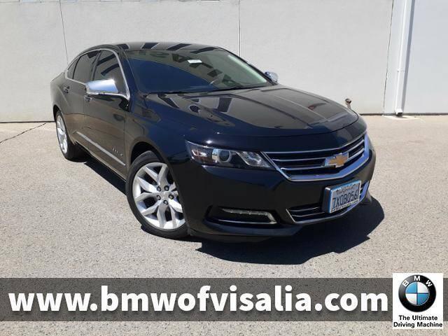 2017 Chevrolet Impala for sale at BMW OF VISALIA in Visalia CA