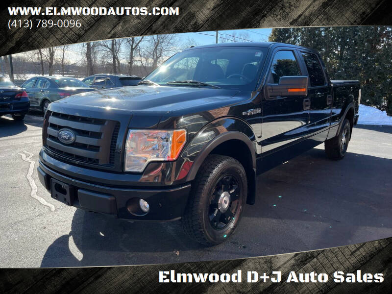 2010 Ford F-150 for sale at Elmwood D+J Auto Sales in Agawam MA
