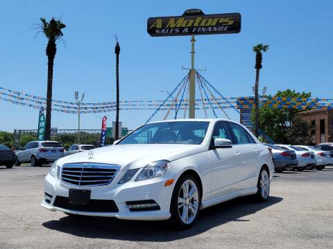 2013 Mercedes-Benz E-Class for sale at A MOTORS SALES AND FINANCE - 10110 West Loop 1604 N in San Antonio TX