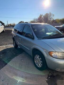 2002 Chrysler Town and Country for sale at Delong Motors in Fredericksburg VA