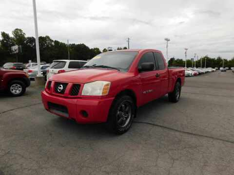 2007 Nissan Titan for sale at Paniagua Auto Mall in Dalton GA