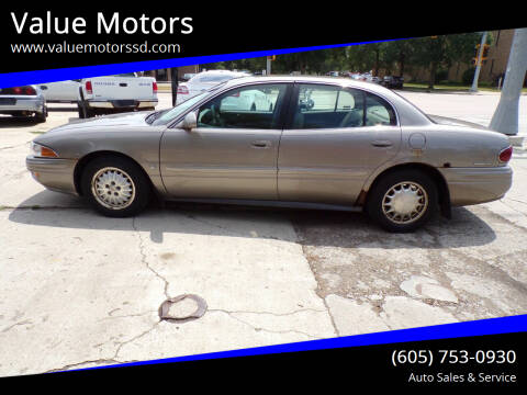 2001 Buick LeSabre for sale at Value Motors in Watertown SD