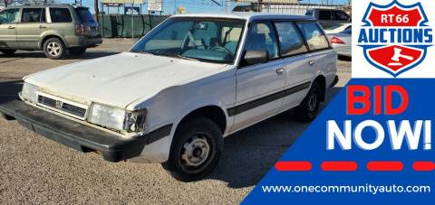 1991 Subaru Loyale for sale at One Community Auto LLC in Albuquerque NM