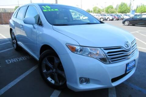2010 Toyota Venza for sale at Choice Auto & Truck in Sacramento CA