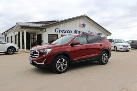 2020 GMC Terrain for sale at Cresco Motor Company in Cresco IA