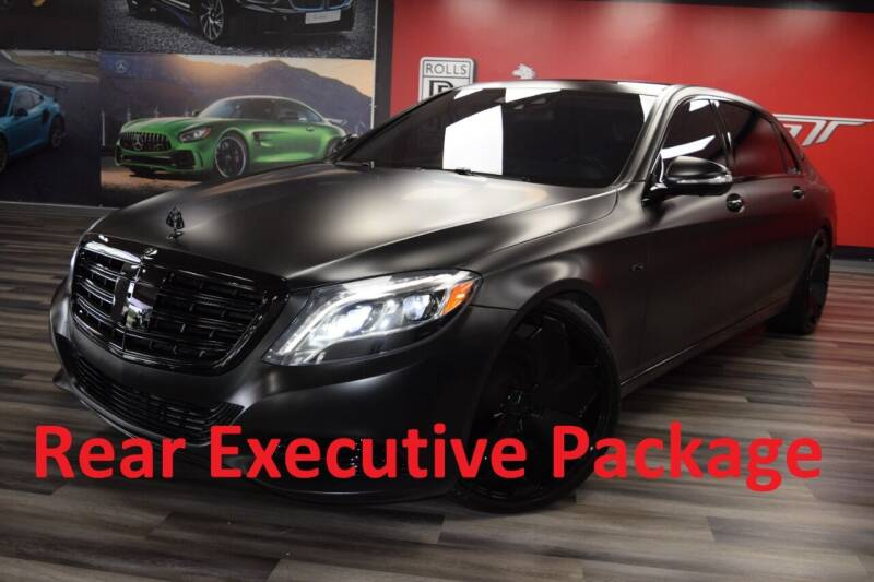 2016 Mercedes-Benz S-Class for sale at Icon Exotics in Houston TX