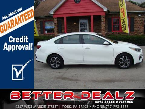 2019 Kia Forte for sale at Better Dealz Auto Sales & Finance in York PA
